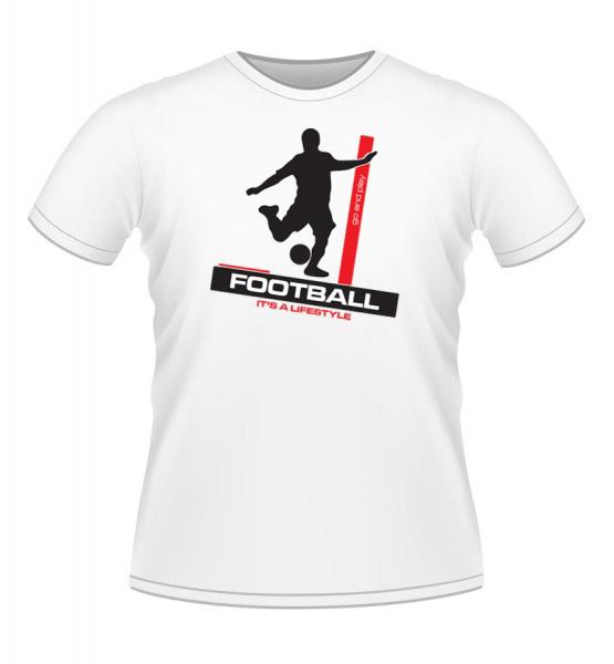 Koszulki z nadrukiem - Piłkarz