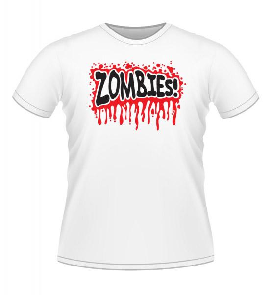 Koszulki z nadrukiem - Zombi