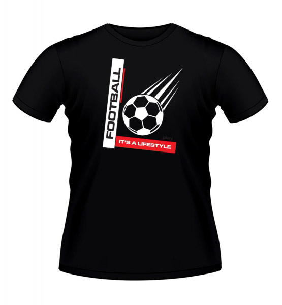 Koszulki z nadrukiem - koszulka z piłką
