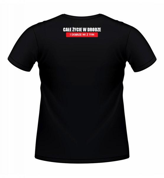 Koszulki z nadrukiem - koszulka z ciężarowym