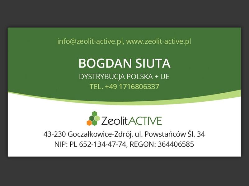 ZeolitActive wizytówki