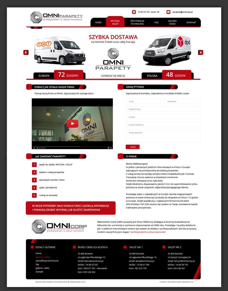 strony internetowa