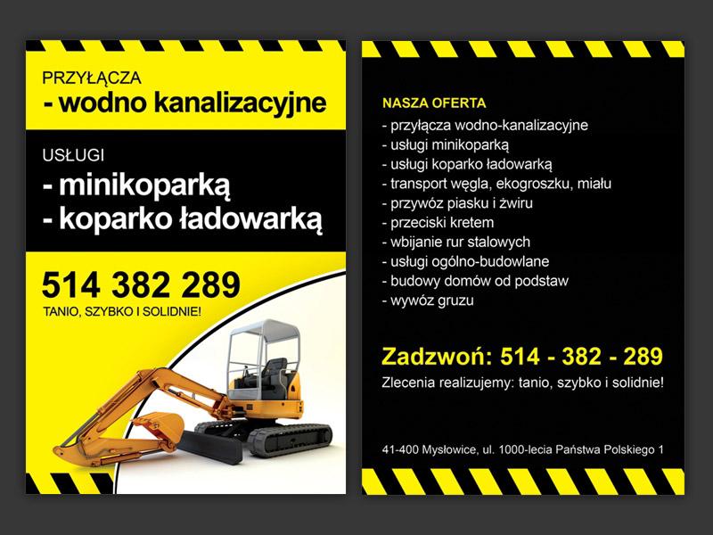 broszura reklamowa Mysłowice